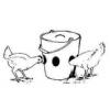 Une Mangeoire à Poulets