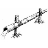 Tubos de Bambú por Agua